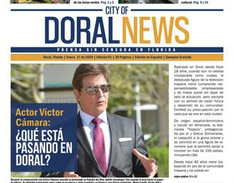 City of Doral News Edition 1 pg1.jpg