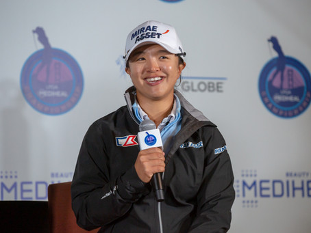 IN THE WINNER'S CIRCLE WITH SEI YOUNG KIM