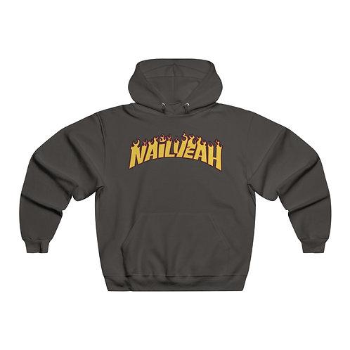 Flamin' haute hoodie