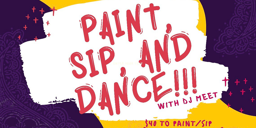 Paint, Sip, and Dance