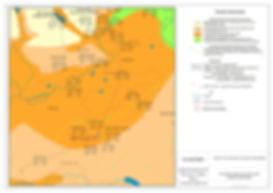 Гидрогеологическая карта района работ