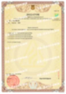 Додаток до Сертифікату відповідності САПС Парус
