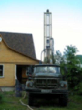 Drilling of the UGB-1VS well