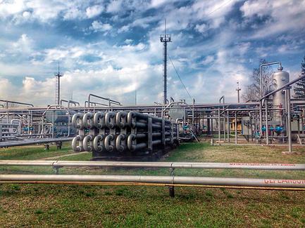 Автоматизация месторождений газа