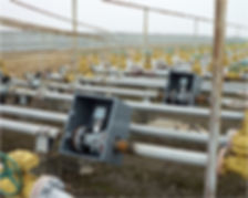 Установка витратомірів-лічильників газу РГ-ОНТ на шлейфах свердловин
