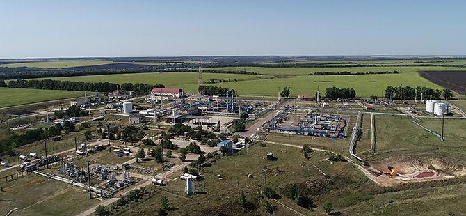 Будівництво установок комплексної підготовки газу