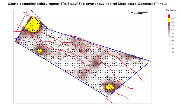 Radon survey of Morozov-Savinsky square-toron
