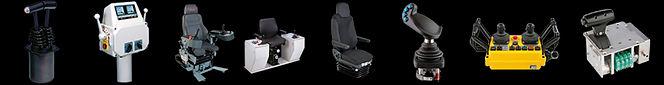 командоконтроллеры и кресло-пульты W.GESSMANN.GmbH