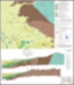 1. Схематическая гидрогеологическая карт