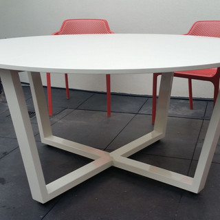 Custom Round Outdoor Table