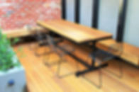 Outdoor Furniture Melbourne, Outdoor Table Creations, Stainless Outdoor Table, Live Life Outdoors, Outdoor Tables Melbourne, Outdoor Tables