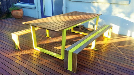 Outdoor Table Melbourne, Live Life Outdoors, Outdoor Table Creations