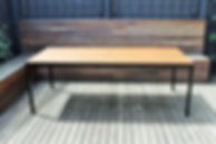Outdoor Table Spotted Gum, Live Life Outdoors, Outdoor Furniture Melbourne, Outdoor Table Creations, Outdoor Tables Melbourne, Outdoor Tables