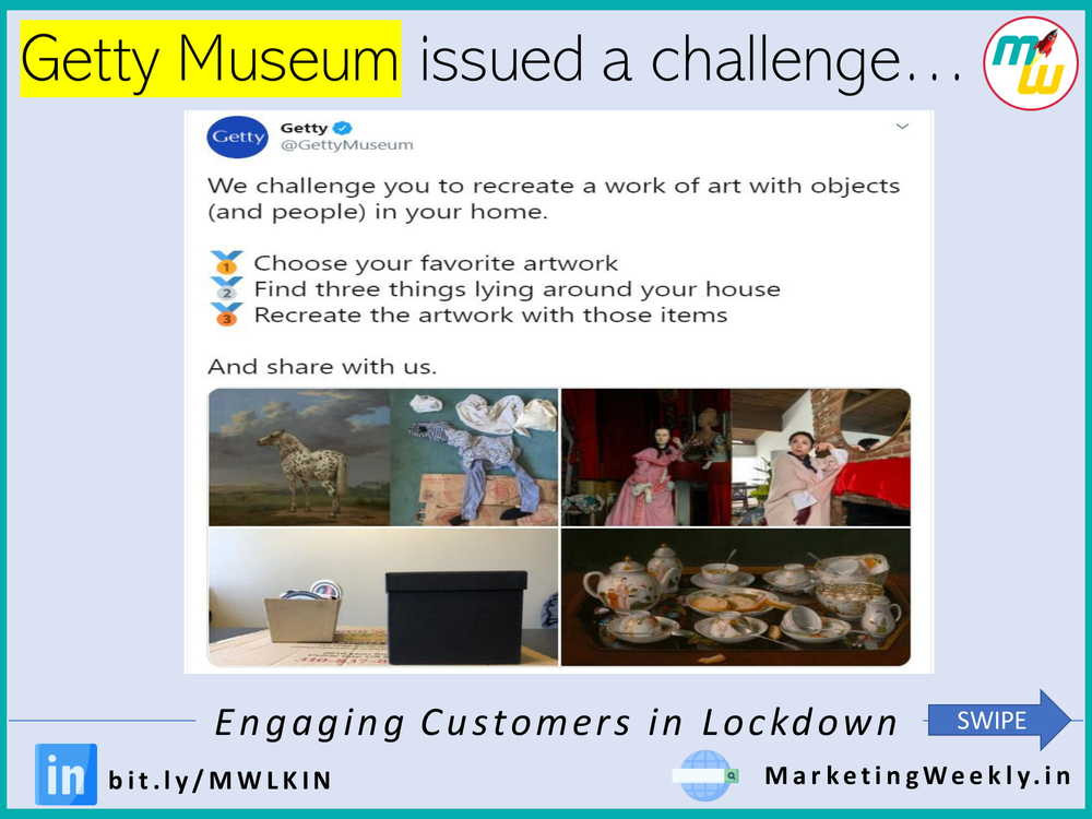 Getty Museum issued a challenge