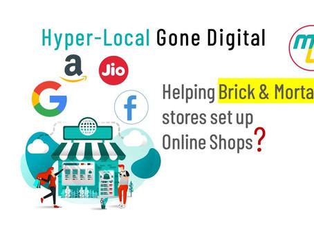 Helping Brick & Mortar set up online stores