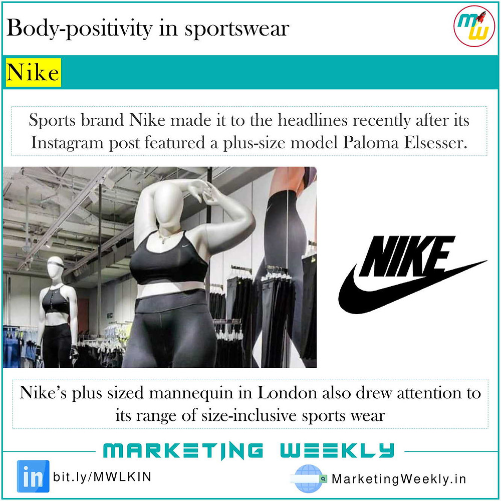 Body-positivity in sportswear