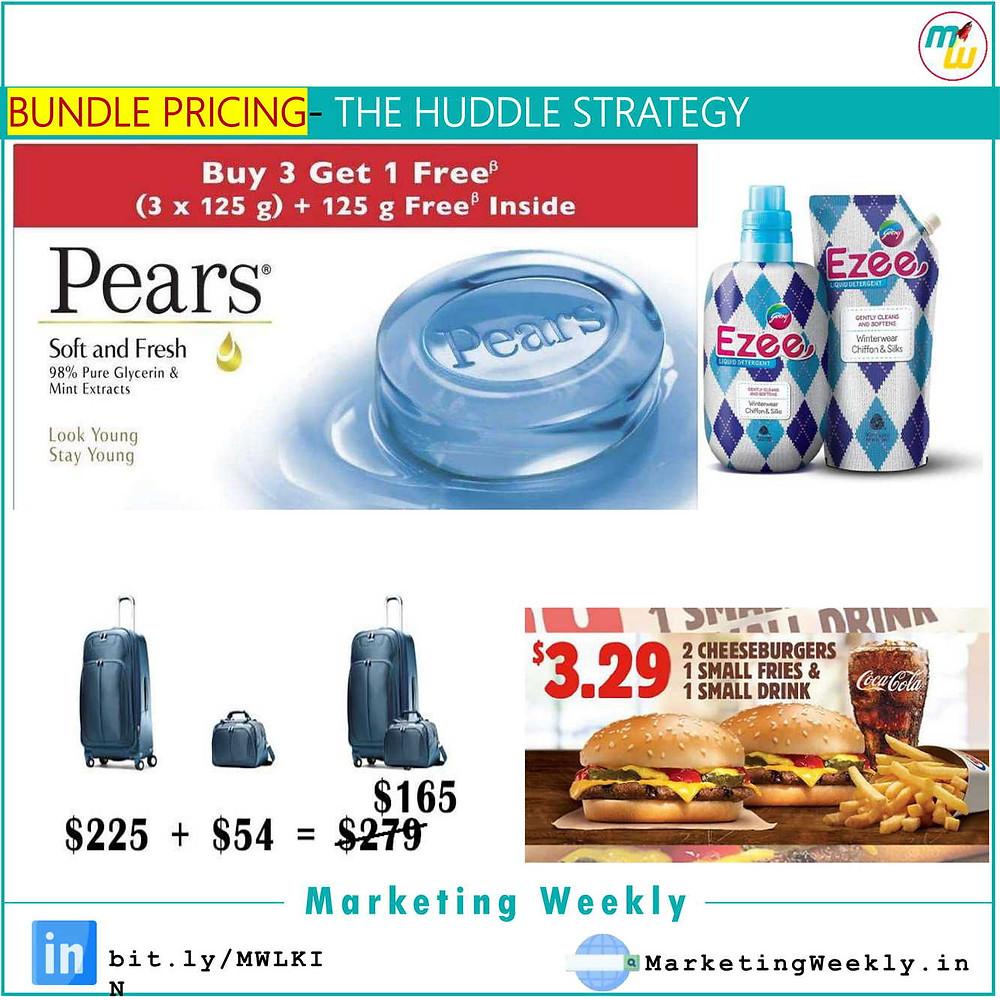 Bundle Pricing- The Huddle Strategy