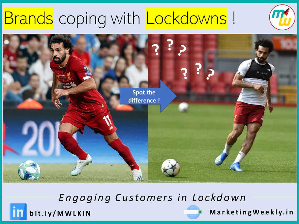 Brands coping with Lockdowns!