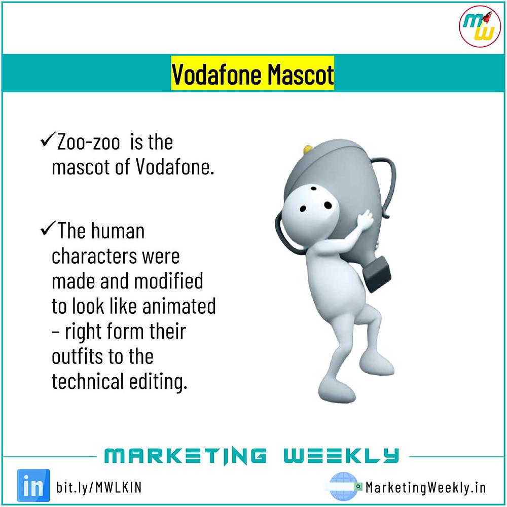 Vodafone Mascot