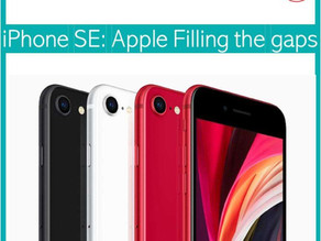 iPhone SE: Apple filling the gaps