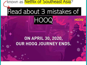 Untimely death of HOOQ