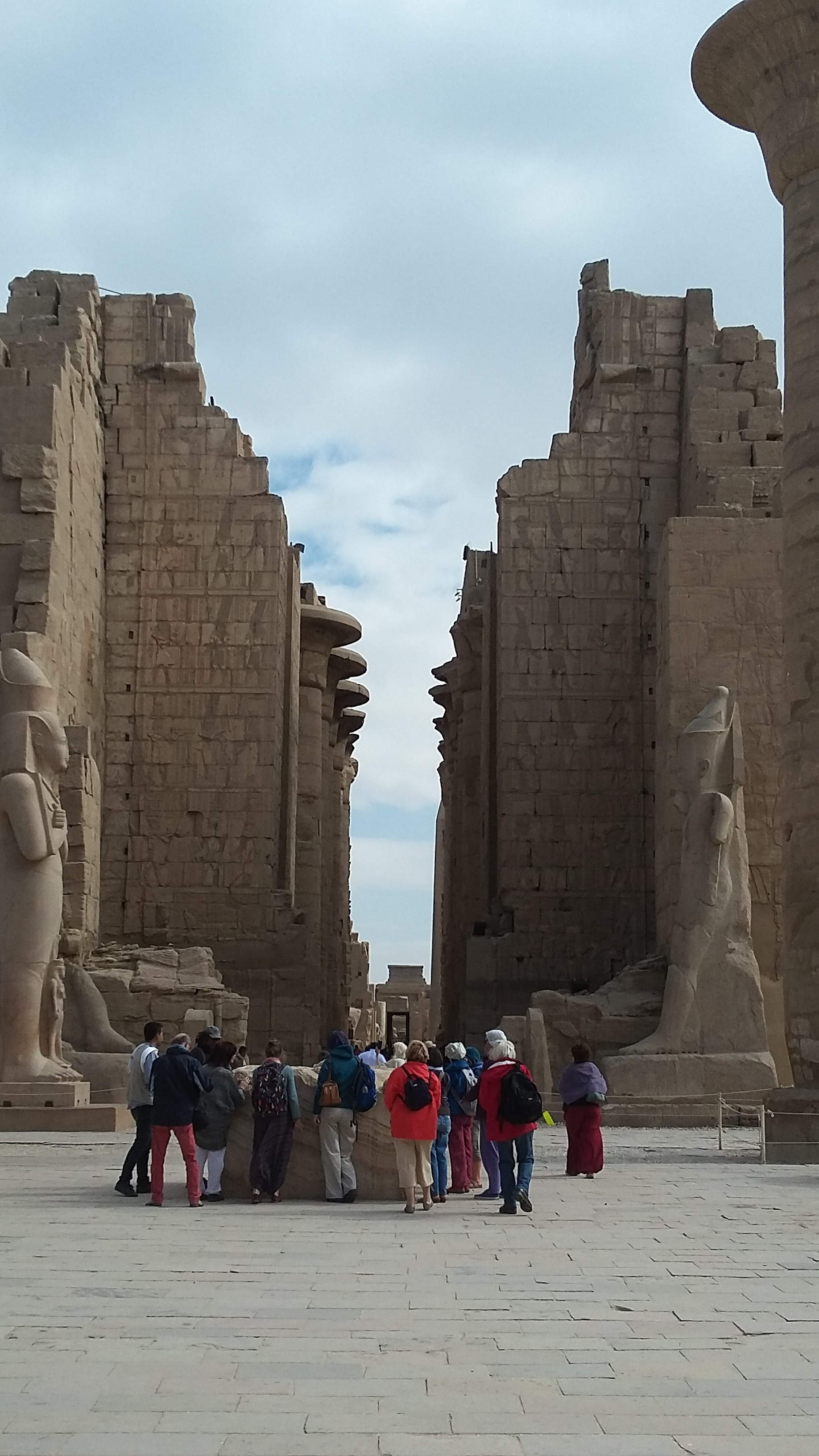 Our group at Karnak