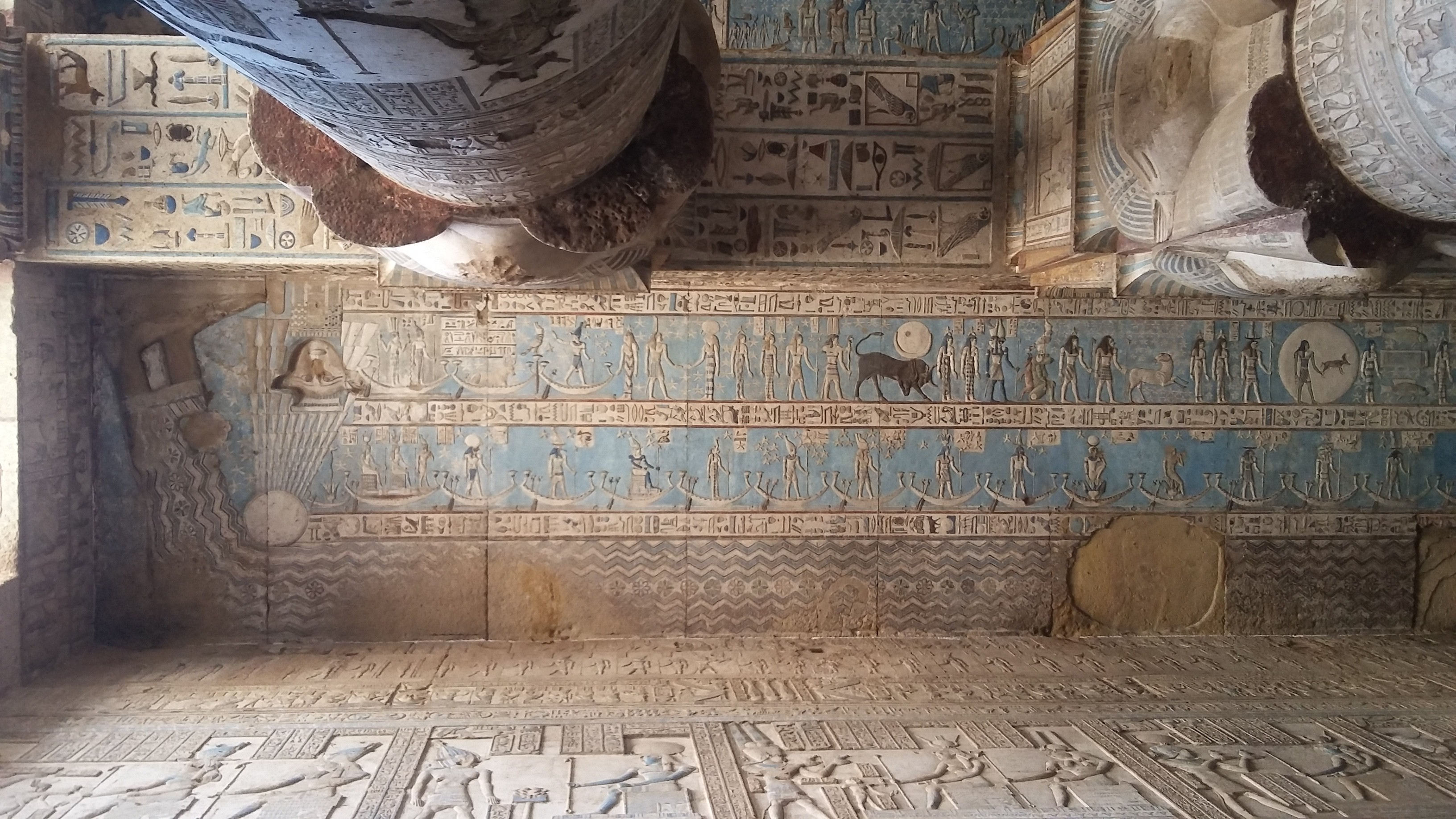 Ceiling Dendera temple