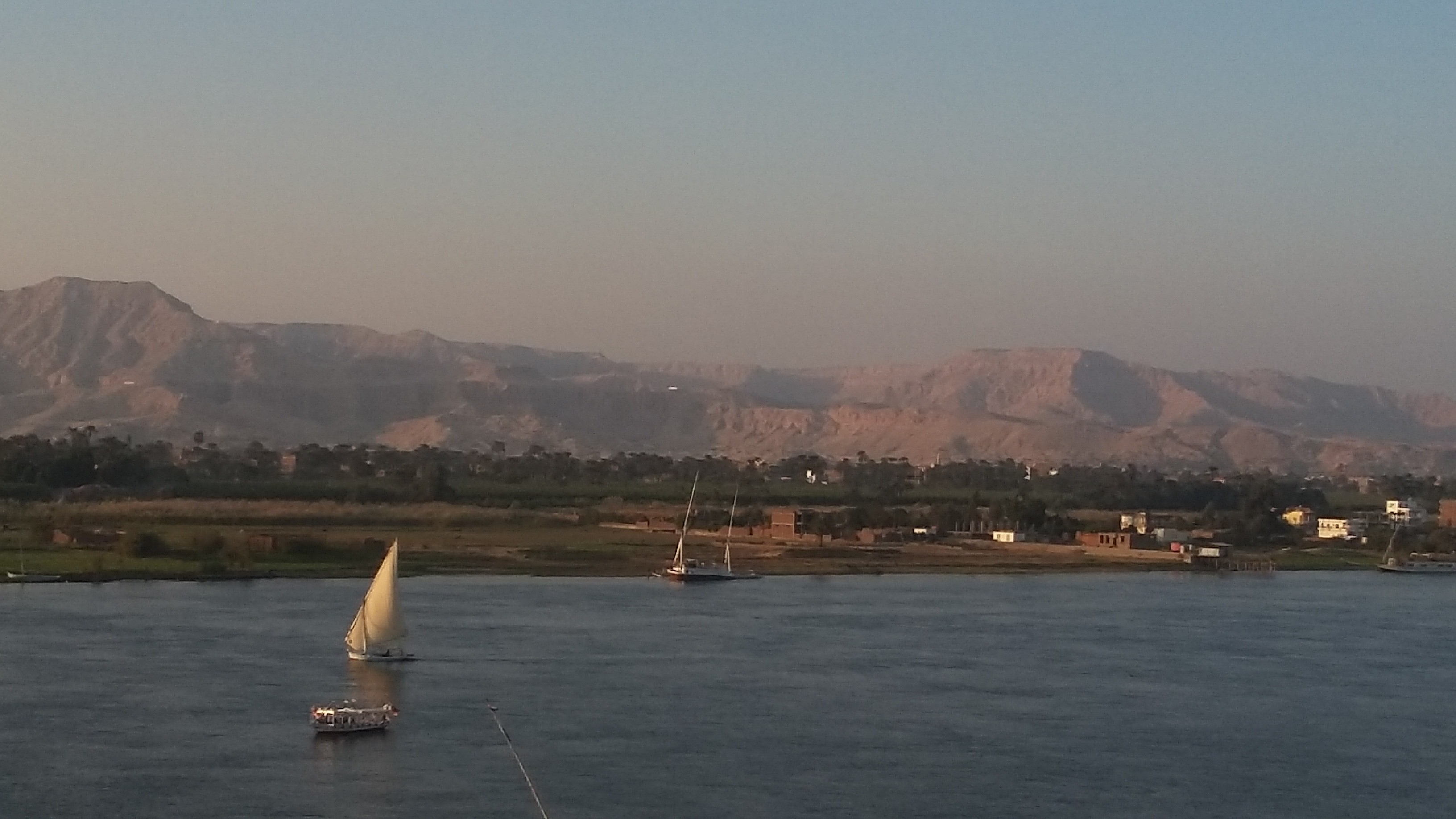 The Nile in Luxor