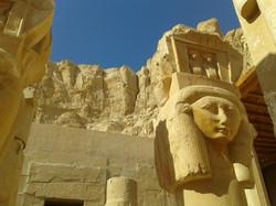 Hathor chapel Hatsepsout temple