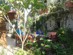 Lovely garden Amon hotel Luxor