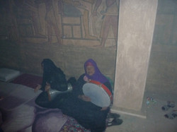 Egyptian women at ZAR