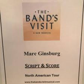The Band's Visit Script Pic