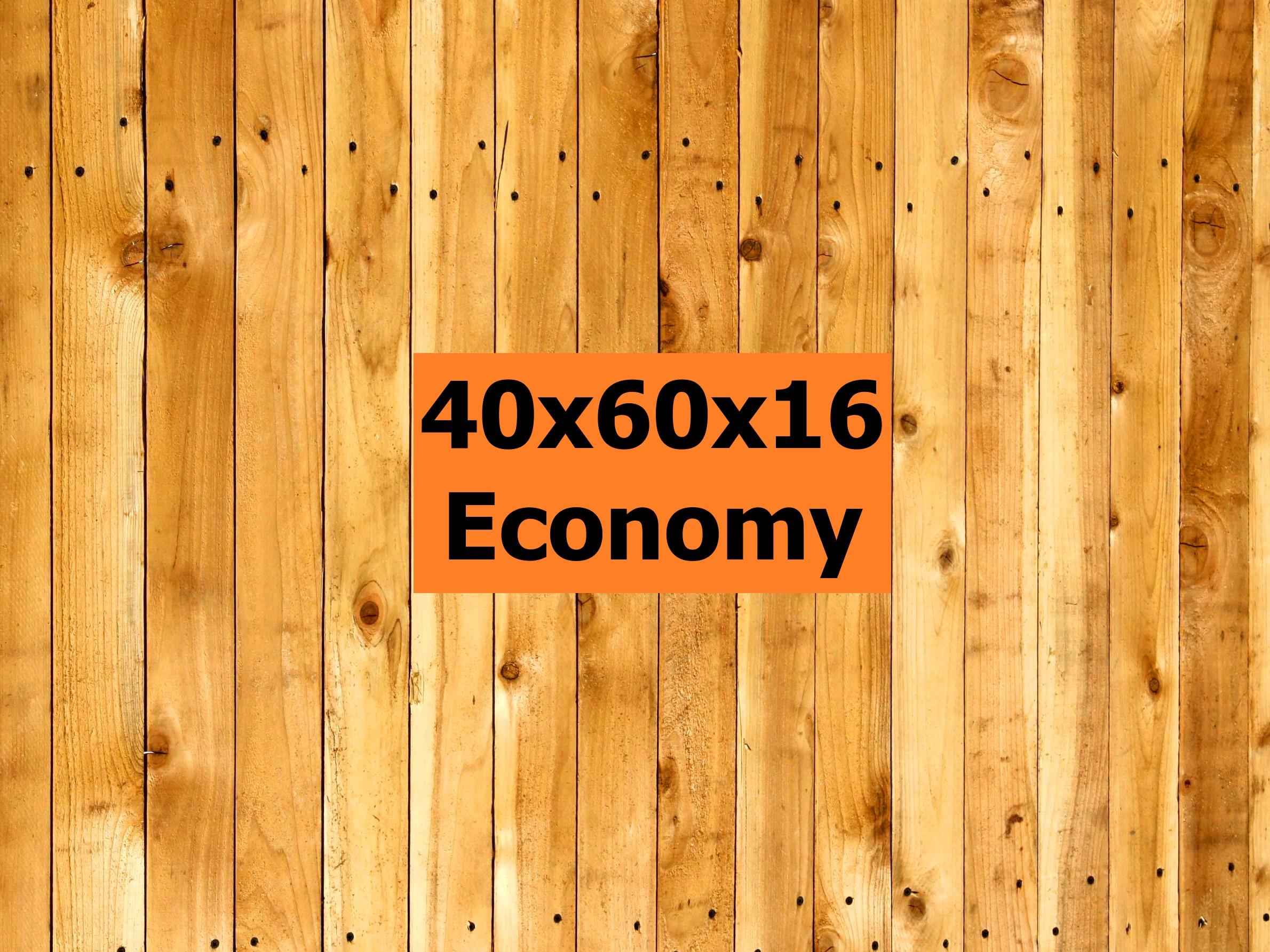 40x60x16Economy