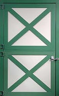 Clearance Pole Barn Doors