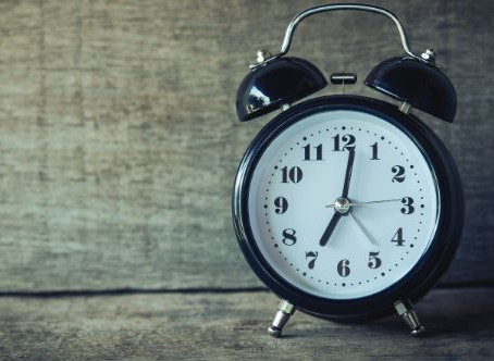 Daylight Savings Time!
