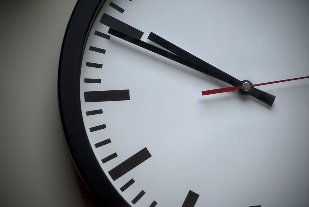time change staffing recruiting clock tick tock dahl consulting