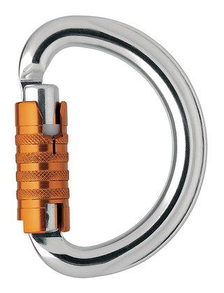 Mosquetón semicircular OMNI TRIACT LOCK | Petzl®