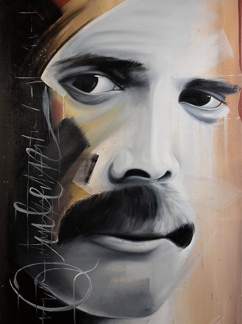 Freddie Mercury by Michael Potzinger