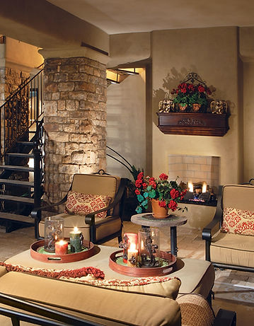 Iron Patio Casual Outdoor Furniture Style