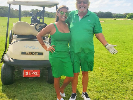 Green On The Greens at The Links Divi Aruba, Old Pro and Young Pupil