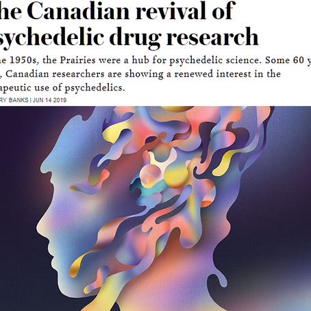 The Canadian revival of psychedelic drug research