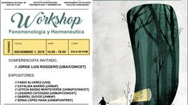 Workshop de Fenomenología y Hermenéutica: El método en contexto (Argentina)