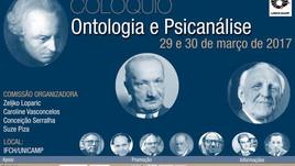 (CFA) Ontologia e Psicanálise, 29 y 30 de Marzo, UNICAMP (Brasil)
