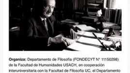 EN TORNO A HEIDEGGER Y SU ACTUALIDAD: HOMBRE – EXISTENCIA – TÉCNICA (Santiago, Chile)