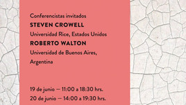 Workshop Internacional: Husserl hermenéutico, Heidegger trascendental (19 y 20 de junio, Santiago, C