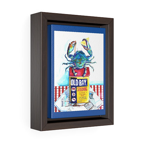 Blue Crab Trim Executive Canvas