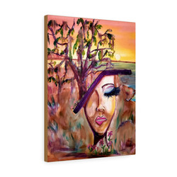 levelminded-art-st-helena-premium-gallery-wrap-canvas-print