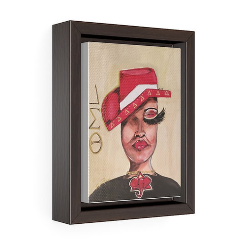 Delta Framed Premium Gallery Wrap Canvas