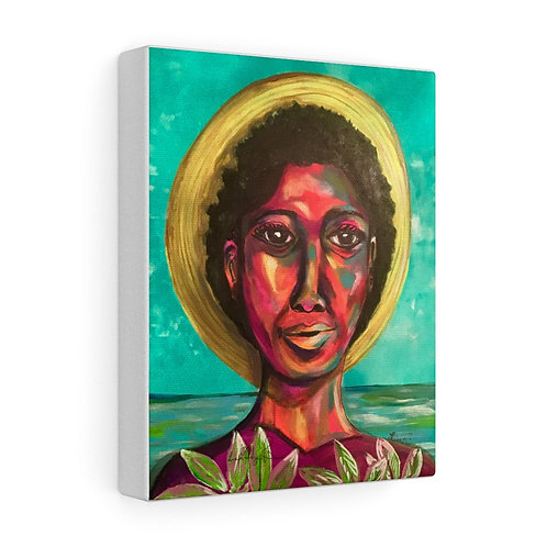 Color Girl Stretched canvas