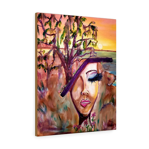 Sea Island Diva Canvas Gallery Wraps